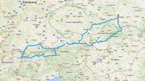 Road Trip Map Germany Archives 48 In 48