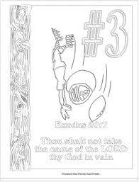 cozy design ten commandments coloring pages 19 commandment page
