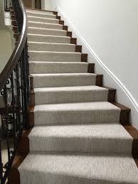 Sisal Stair Runner by Masland Stainmaster Carpet Fabricated Into A Stair Runner For A