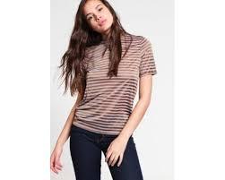 vila toj sale women vila vistrow print t shirt roasted pecan toj 440215258