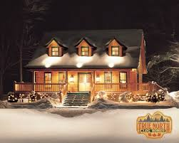 Log Cabin Plans With Wrap Around Porch Louisburg 1 Log Home Plan By True North Log Homes