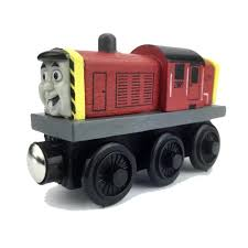 online shop spencer anime blue awesome craft wooden model train
