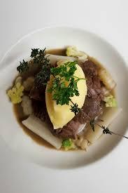 cuisine joue de boeuf joue de boeuf parmentier aux crosnes salsifis et foie gras