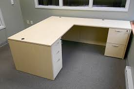 L Shaped Desk L Shaped Office Desk New Used Desk The Office Manager Inc