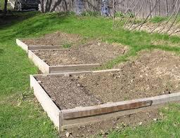 tispaquin u0027s revenge terraced garden with raised beds