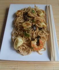 comment cuisiner des nouilles chinoises nouilles chinoises aux fruits de mer les recettes légères d iman