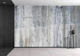 wall26  Grunge Concrete Wall  Removable Wall Mural  Selfadhesive