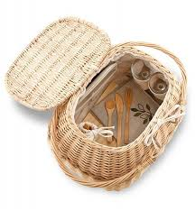 picnic baskets for two deluxe eco friendly picnic basket for two home decor a