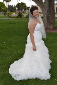 plus size fit and flare wedding dress nicoleh s fitted ruffled wedding gown strut bridal salon