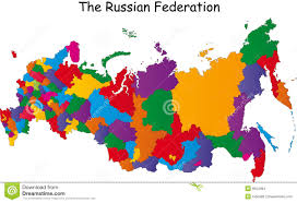 Map Russia Map Of Russia Stock Images Image 9654064