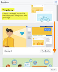 how to edit facebook business page template daves computer tips