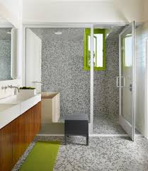 Ideas For Bathroom by Tiled Shower Ideas This Corner Shower Uses A Standard Pan Base