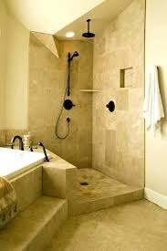 open shower bathroom design bathroom inspirational open shower for small bathrooms with open