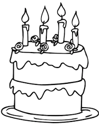 birthday cake coloring pages kentscraft
