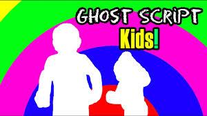 ghost script kids episode 1