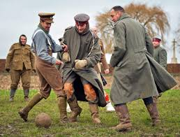 tale of 1914 christmas day truce is inspiring though hard to