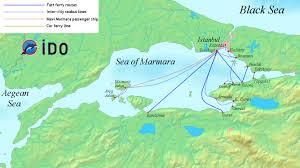 Istanbul World Map by Ido Wikiwand