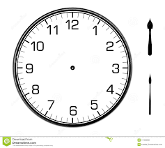 classic wall clock on the wall stock photo image 17453690
