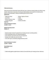 Administrative Officer Sample Resume by Administration Resume Samples 29 Free Word Pdf Documents