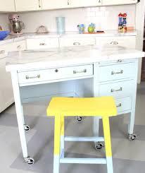 Kitchen Island Out Of Dresser - kitchen cool diy kitchen island from desk dresser diy kitchen