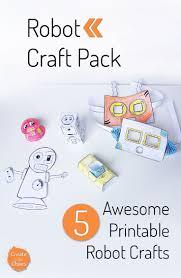 79 best robot crafts images on pinterest robot crafts creative