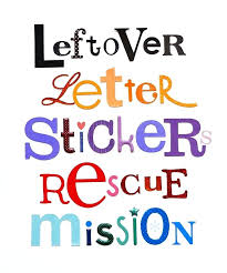 Letters Designs For - scrapbook letters designs printable stickers lining page