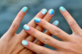 ruffian manicure nail art tutorial cute nail design for short