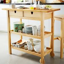 wood kitchen island cart kitchen islands carts ikea