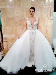 detachable wedding dress straps stephen yearick galia lahav column wedding dress with straps
