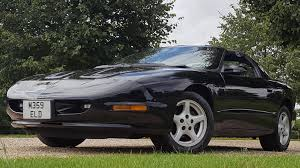pontiac sports car used pontiac trans am t top 5 7 v8 been in uk since 1997