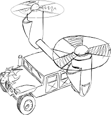 humvee drawing february 24th aircraft inspired by mythological creatures