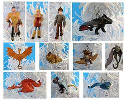 train dragon 2 christmas ornaments featuring hiccup