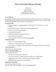 resume profile exles colorful resume profile exles entry level gallery documentation