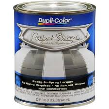 dupli color paint shop finish system championship white 32 oz