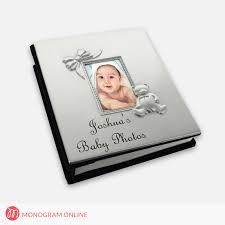 personalized album personalized baby album monogram online