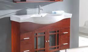 Apron Sink Bathroom Vanity by 16 Inch Bathroom Vanity Enchanting Brown Rectangle Modern Fiber 16