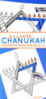chanukah coloring page for adults beyond the balagan