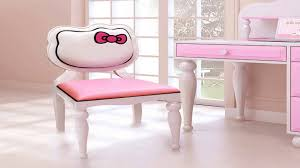 Pink Computer Desk Chair by Hello Kitty Desk Chair Youtube