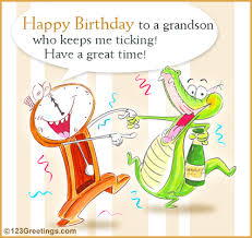 birthday cards for 2 year old grandson happy birthday grandson