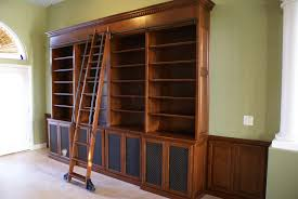 home design center las vegas after custom bookcases installed with library ladder las vegas
