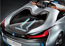 Bmw I8 Rear Seats - bmw i8 concept spyder rear close up eurocar news