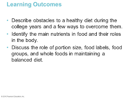 improving your nutrition ppt video online download