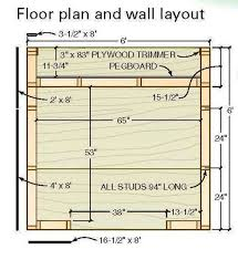 shed layout plans 6 6 shed plans blueprints for building a hip roof tool shed