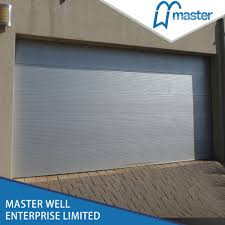 Used Overhead Doors For Sale China Color Steel Sectional Automatic Used Garage Doors Sale