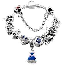 chain link bracelet charms images Unique charm bracelet diyosworld jpg