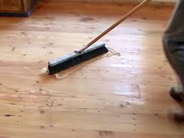 Laminate Wide Plank Flooring How To Sand And Seal Wide Plank Flooring How Tos Diy