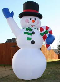 Blow Up Christmas Decorations On Sale by Yolloy Snowman Decorations Huge Inflatables For Sale