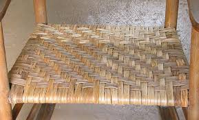 Caning A Chair Weaving A Chair Seat With Hickory Bark