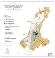 Salt Lake City Utah Map by Aquifer Classification Utah Ground Water Quality Protection