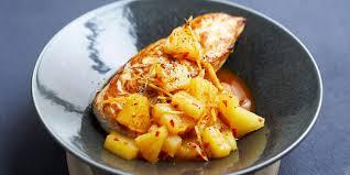cuisiner des blancs de poulet poulet au miel soja et ananas cuisine ta mère